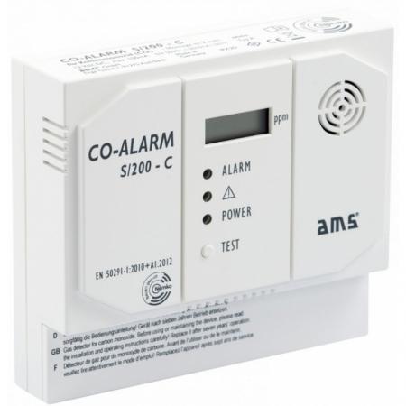 AMS Gasalarm S/200-C 12 V