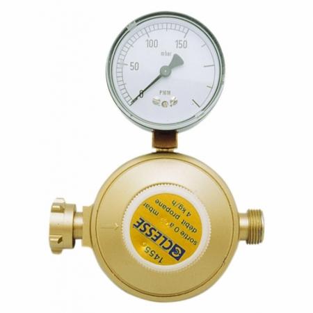 Druckregler mit Manometer 50 - 150 mbar