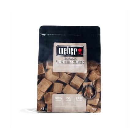 Weber cubes allume-feux écologique