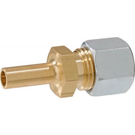 réduction tube 8 mm - RVS 10 mm