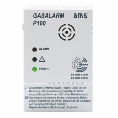 AMS Gasalarm P100 Schaltausgang