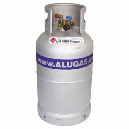 Alugas-Tankflasche 11 kg mit Multifunktionsventil