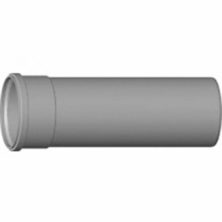 PP Abgasrohr L 0.5 m, 110 mm