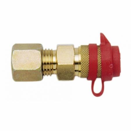 Schnellschlusskupplung mit RVS 8 mm
