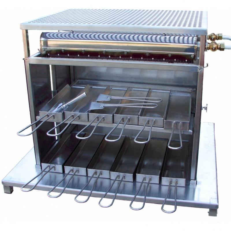 gastro turbo racletteofen gas raclette ofen und zubeh r selzam ag. Black Bedroom Furniture Sets. Home Design Ideas