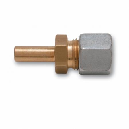 Reduktion mit Zapfen 8 mm - RVS 10 mm