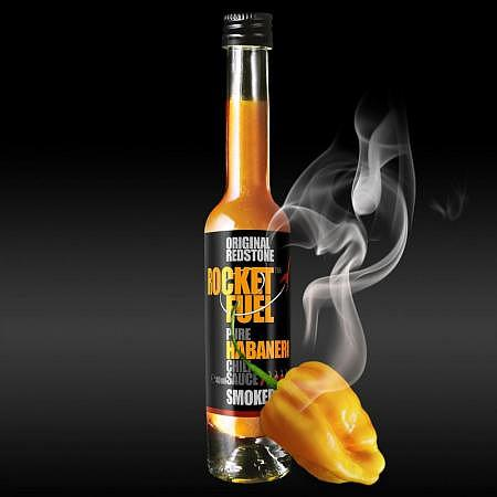 Rocked Fuel Habanero Chili Sauce Smoked