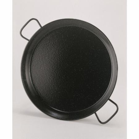 poêle paella, émaillée, 420 x 45 mm