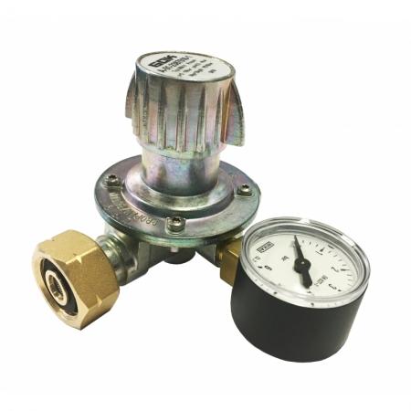 Druckregler 12 kg/h 0,5-4 bar mit Manometer