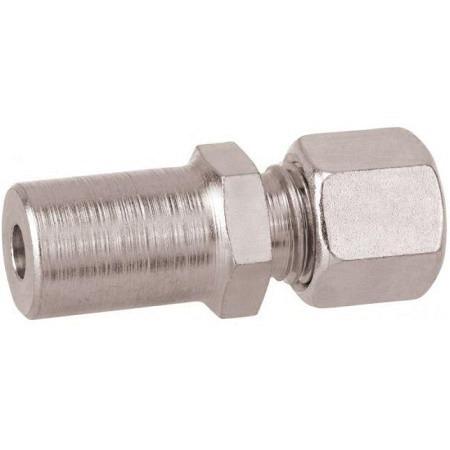 réduction avec tube 10 mm - RVS 8 mm