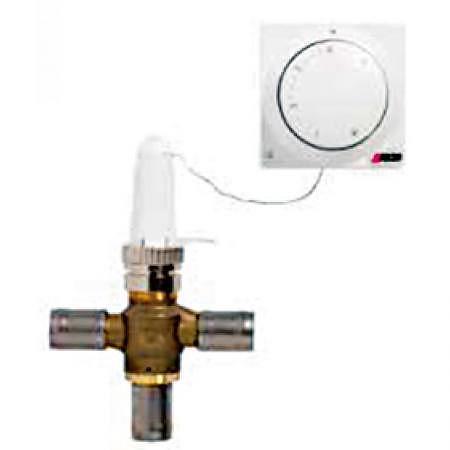 Régulateur de température à deux zones