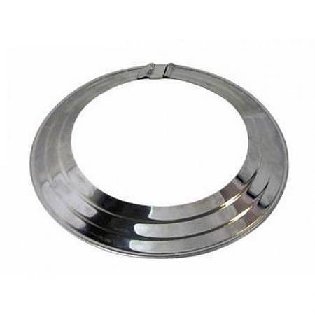 Abgasrohr-Rosette Alu, Ø 110 mm