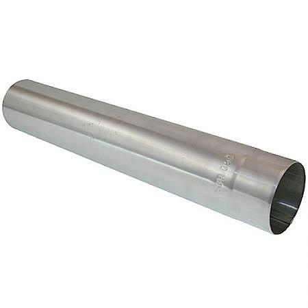 Abgasrohr Alu Ø 130 mm, gerade, 50 cm