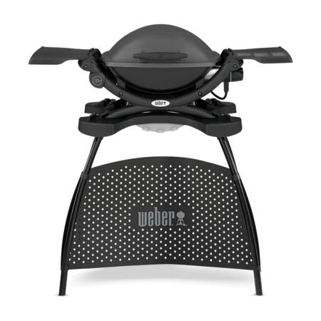 Weber Q 1400 Stand Elektro Dark Grey (gris)