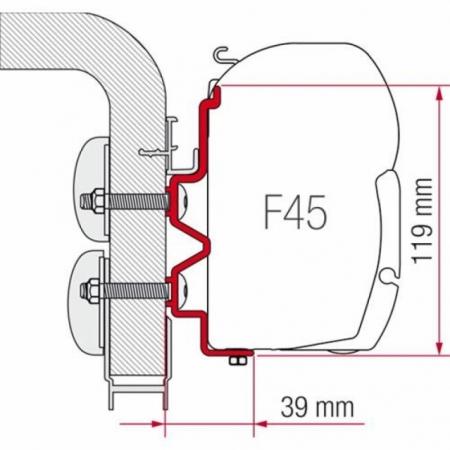 Adapter HymerCamp 450