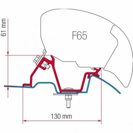 Adapter Mercedes Sprinter F65 Eagle 400 - UK Versi