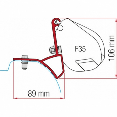 Kit Renault Trafic F35 ab 2015