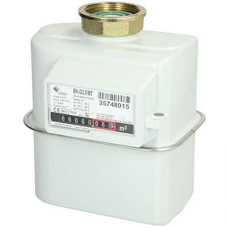 Balgengaszähler BKG 2.5, 0.3-36 kW/h