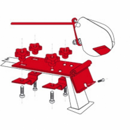 Kit Standard Dachreling F35