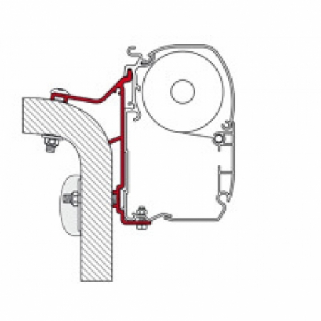 Adapter Hymer Van/B2 350