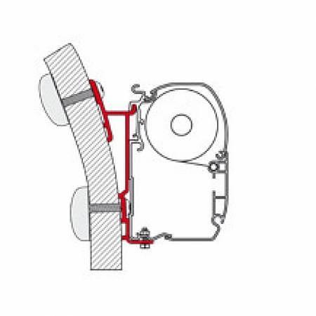 Adapter Hymer S/E Klasse 450