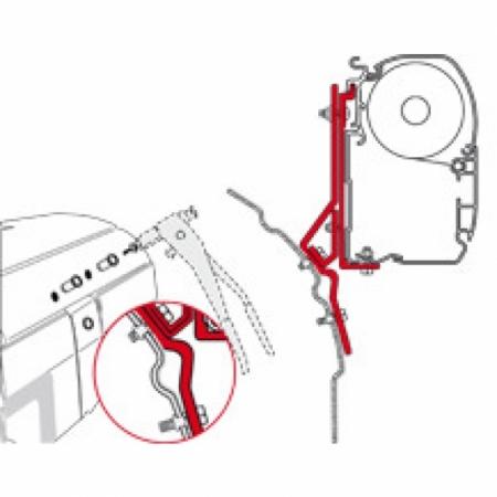 Adapter Kit VW T4 Lift Roof