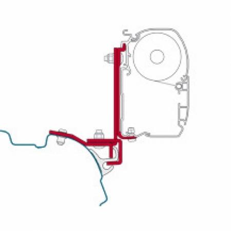 Adapter Kit Brandrup - VW T5 T6