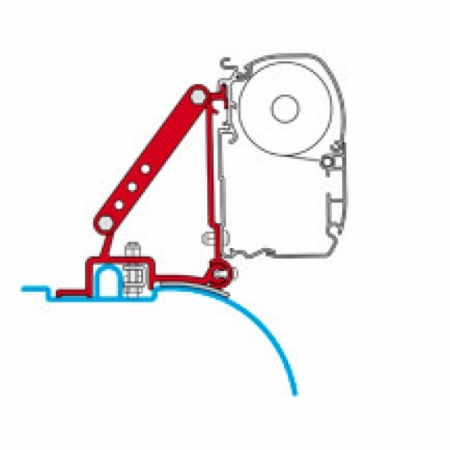 Adapter Kit Ducato 2006 High Roof