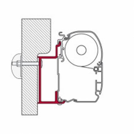 Adapter Eura Mobil Karmann 450