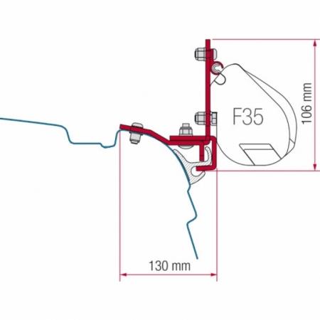 Kit Multirail Remo VW T5/T6 F35