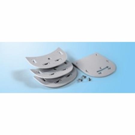 Spacer Kit Safe Door White