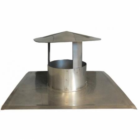 cheminée de toit plat – chapeau chinois
